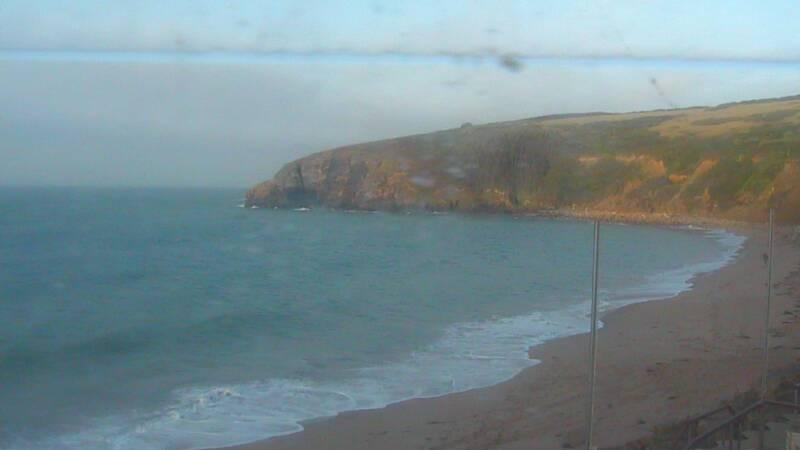 Webcam image from Praa Sands