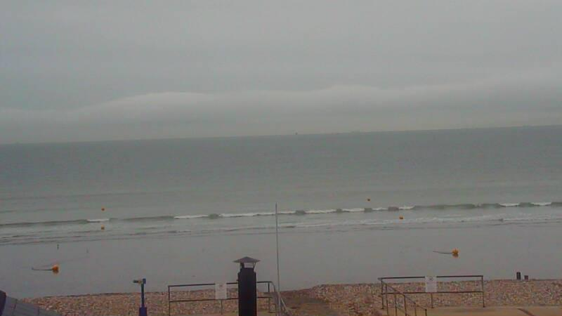 Webcam image from Bracklesham Bay