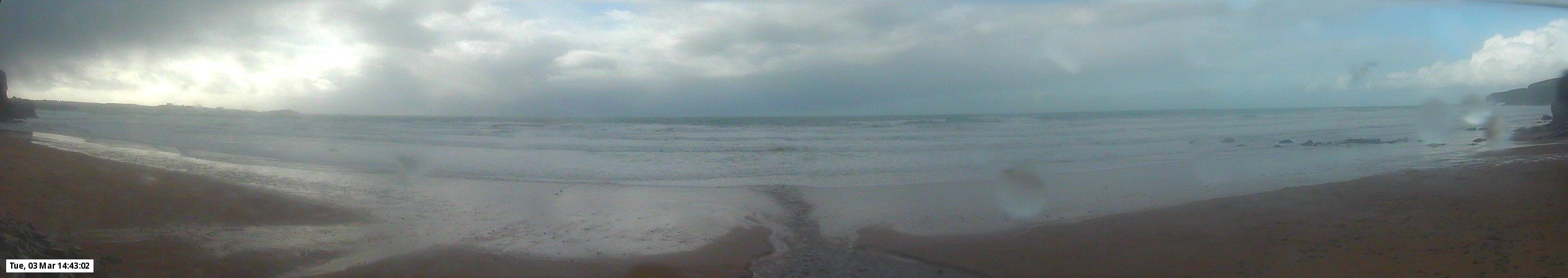 Webcam mais recente para Watergate Bay