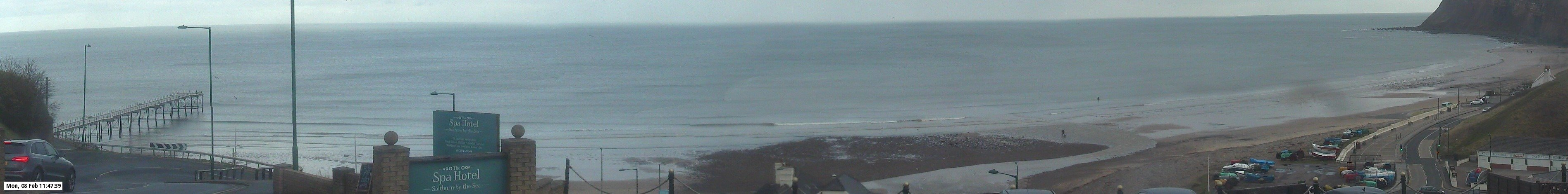 Latest webcam still for Saltburn Beach
