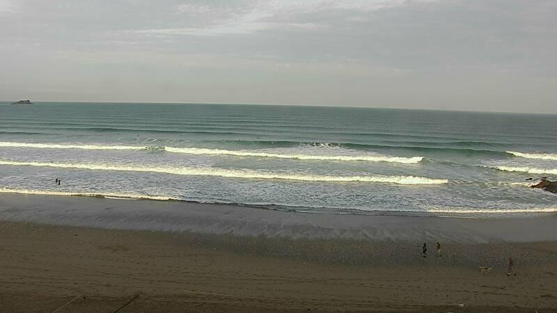 Webcam image from Newquay - Fistral North