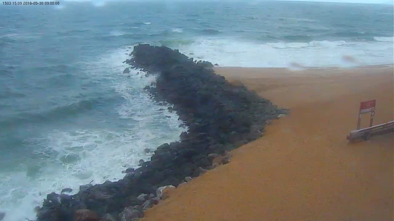 Latest webcam still for Capbreton (La Piste/VVF)