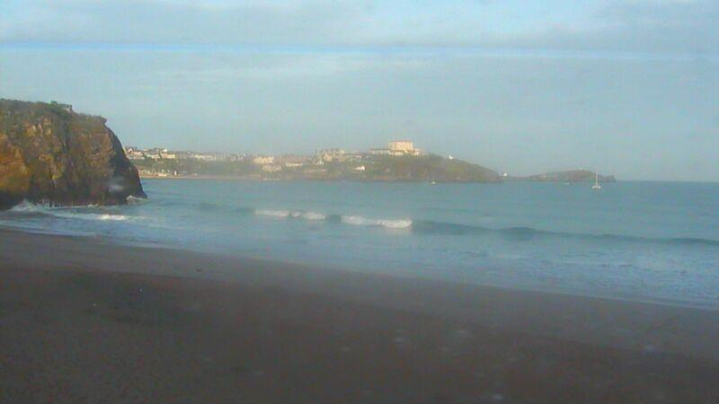 Webcam image from Newquay - Tolcarne Wedge