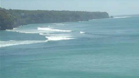 Latest webcam still for Uluwatu