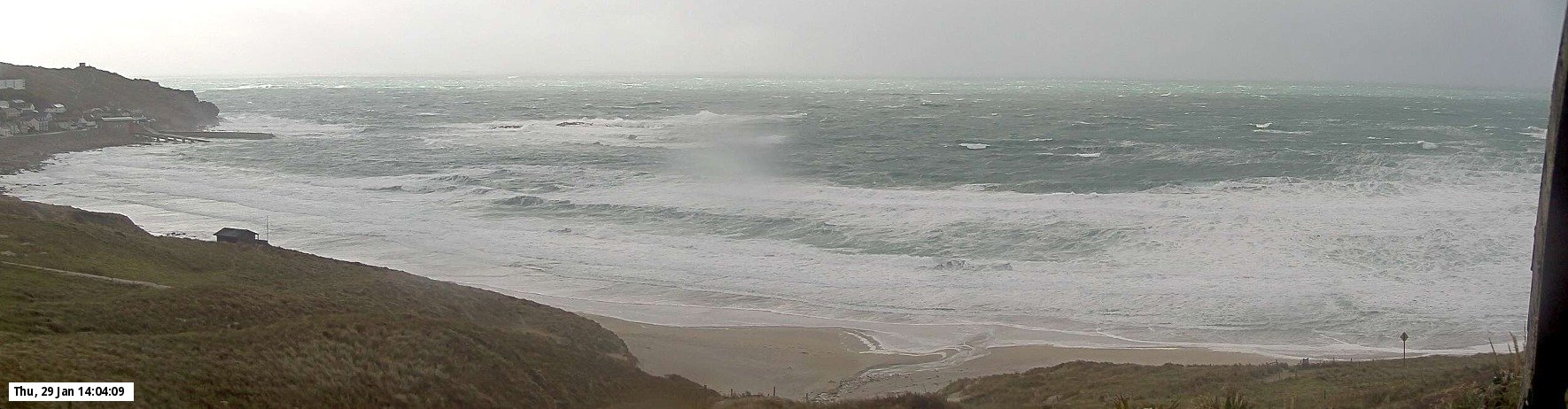 Latest webcam still for Sennen