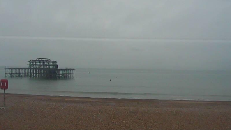 Latest webcam still for Brighton - West Pier