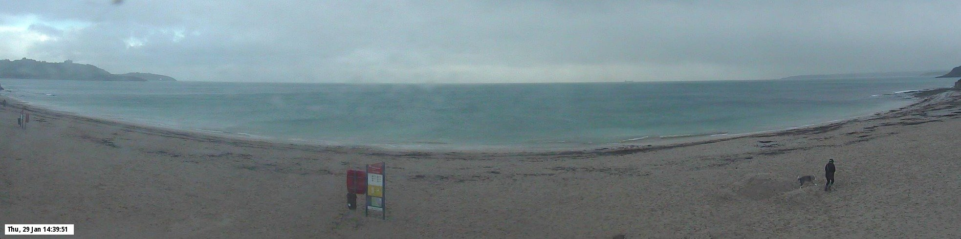 Latest webcam still for Falmouth