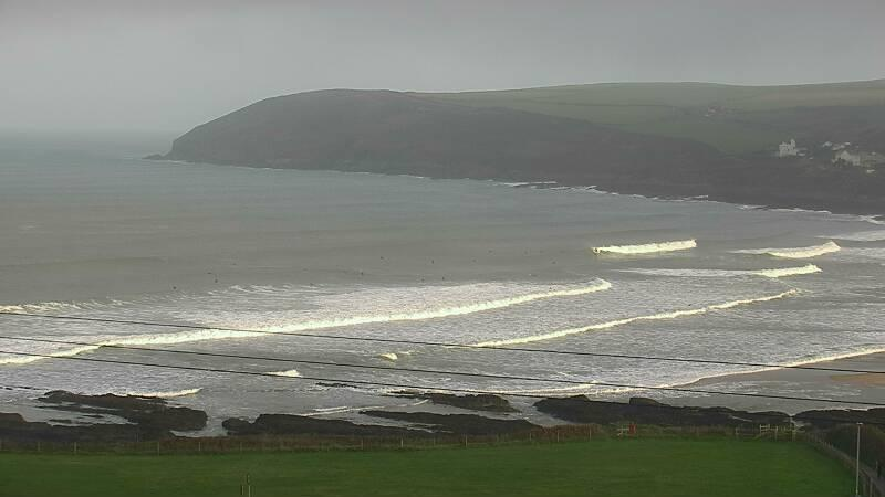 Webcam mais recente para Croyde Beach