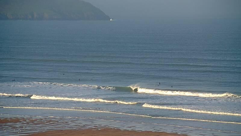 Webcam image from Woolacombe